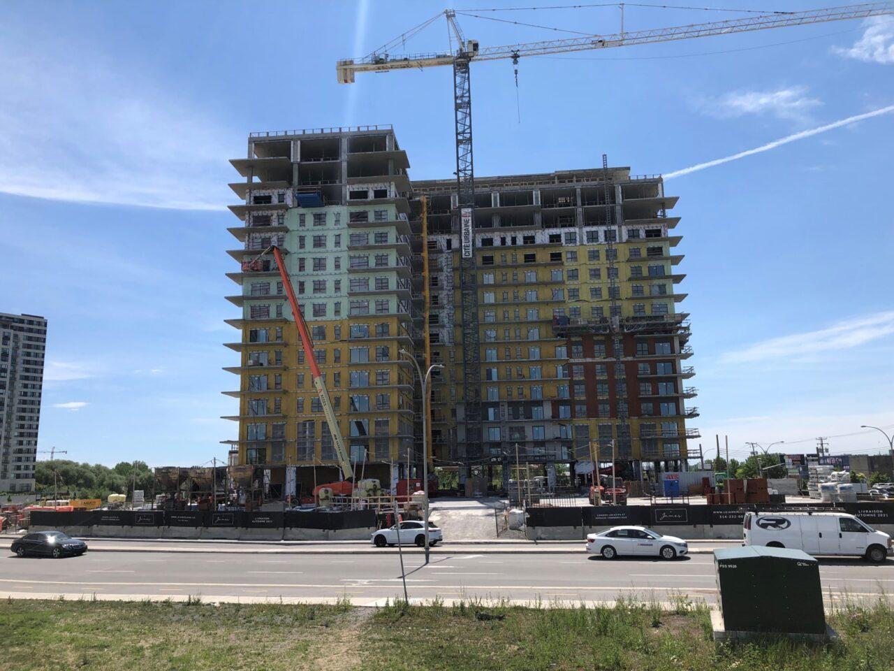Projet cité urbaine - Laval |Isolation R.G.C.